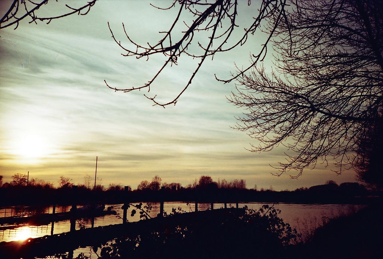 4.8℃的夕陽